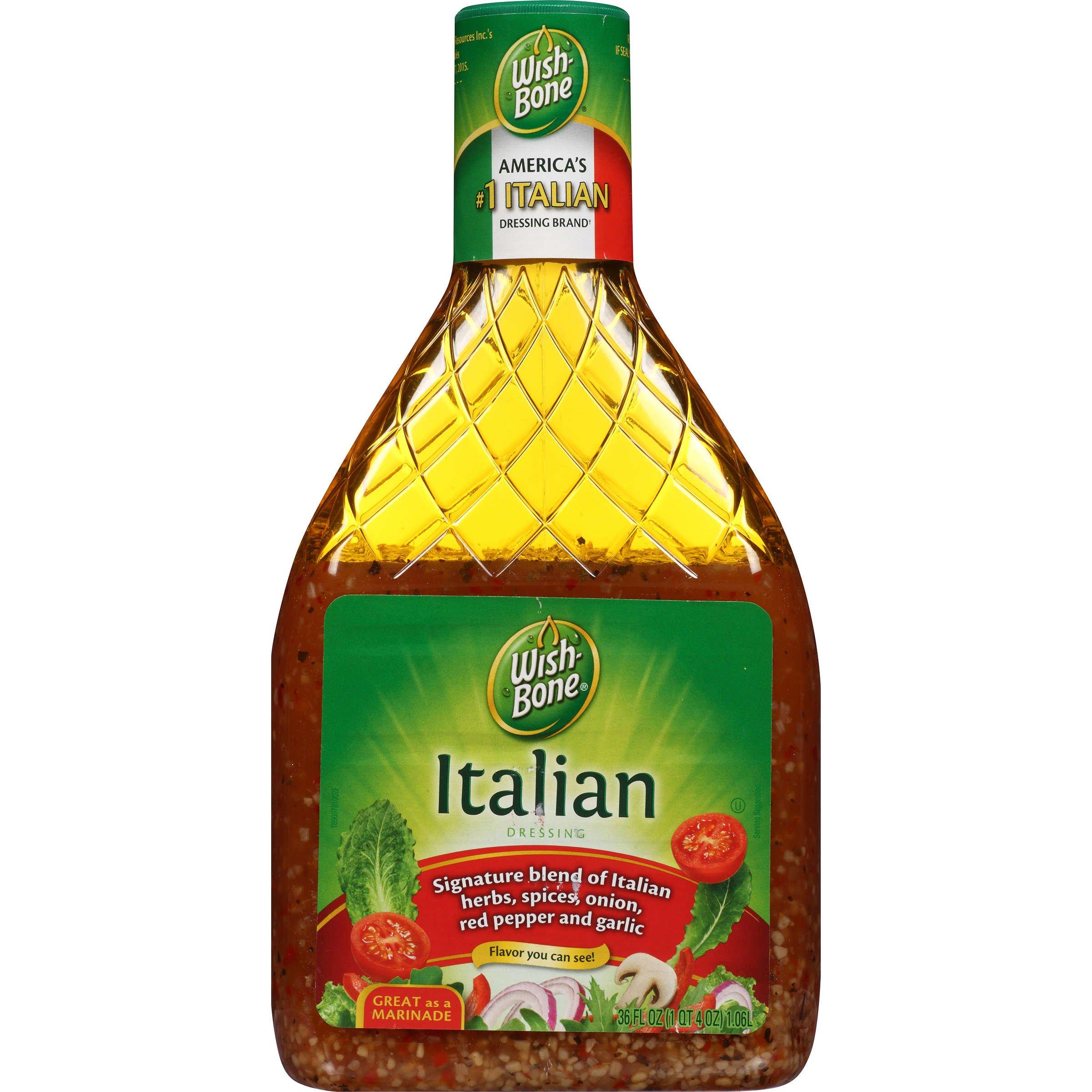 Wish-Bone Salad Dressing, Italian, 36 Ounce (Pack of 6)