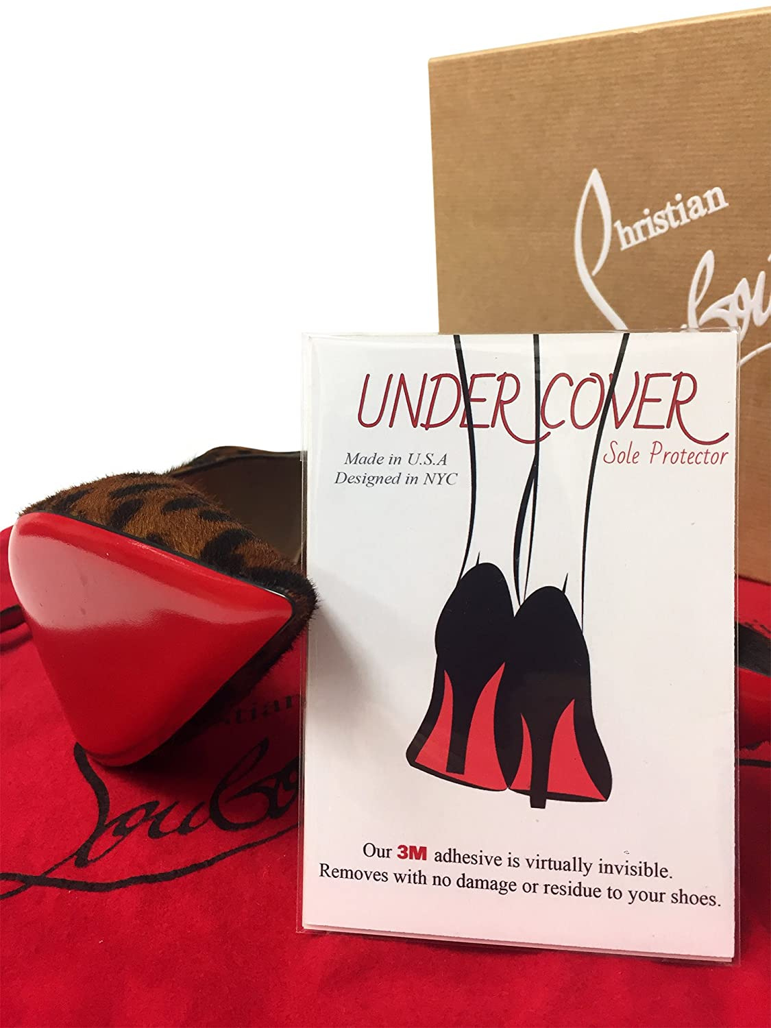 2810962838e Amazon.com  Clear Sole Protector for Heels - Protect your Christian  Louboutin - 3M Sticker  Shoes