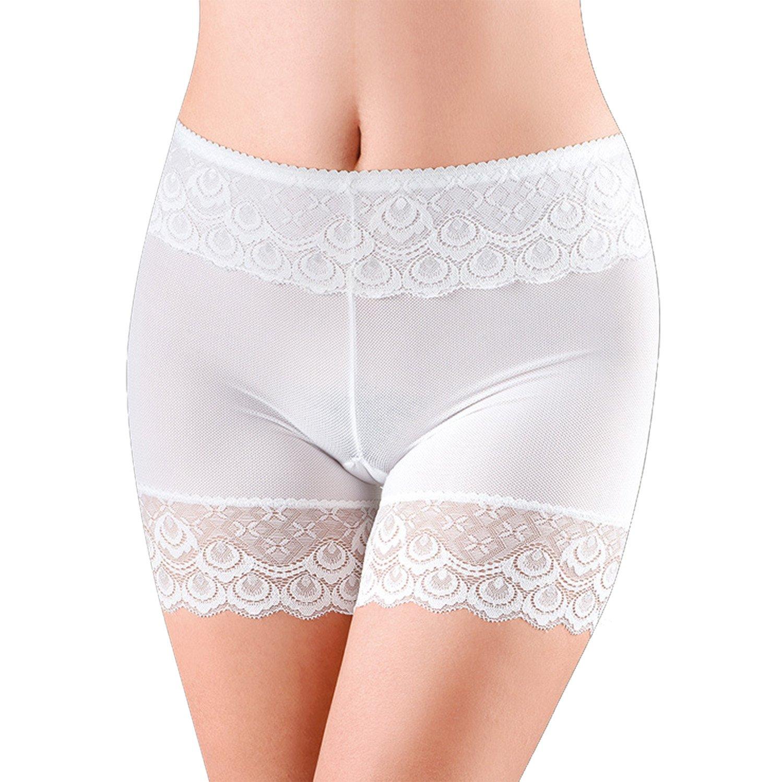 LAEMILIA Womens Lace Short Skirts Safety Pants Leggings Stretch Comfort Soft Boxer Briefs
