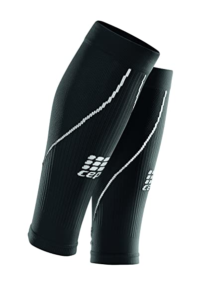 03243fa9f7 Amazon.com: Men's Athletic Compression Run Sleeves - CEP Calf Sleeves for  Performance: Clothing