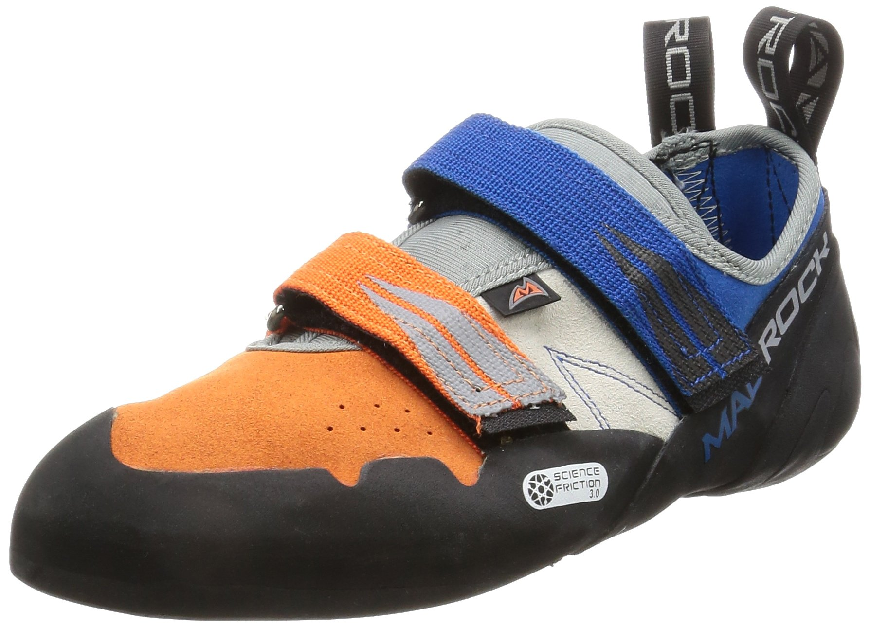 Mad Rock Agama Climbing Shoe - Blue/Orange 9 by Mad Rock