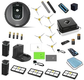 irobot roomba 960 u0026 irobot braava 380t robotic vacuum cleaner and mop irobot roomba 960 - Robot Mop