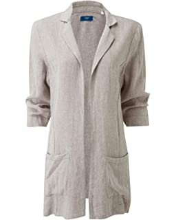 Size 22 Cotton Trader Ladies Longline Summer Jacket