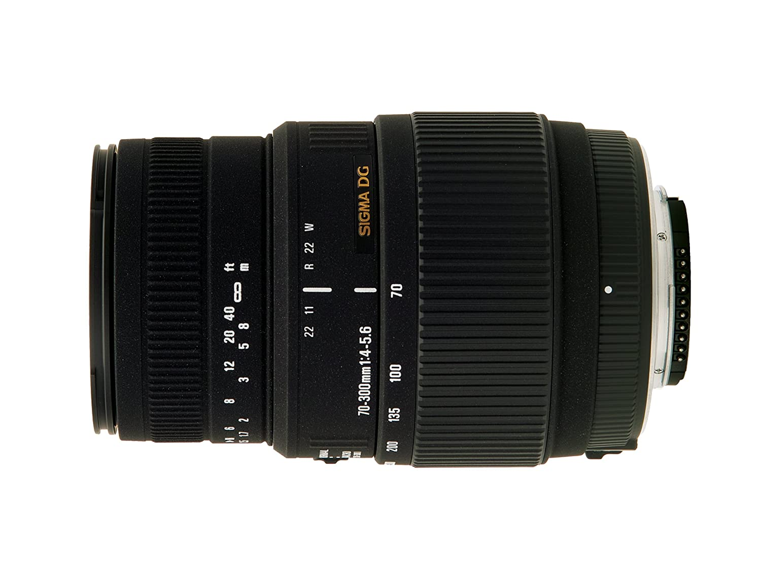 Sigma 70-300mm f/4-5.6 SLD DG Macro Lens with built in motor for Nikon Digital SLR Cameras 5A9306 B0086EN6RG
