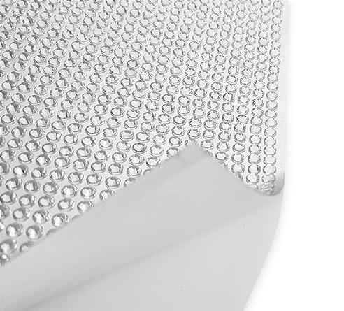 Klebefolie selbstklebende Folie mit 4mm großen Strasssteinen ...