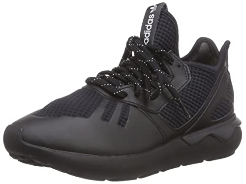 bedd7ab368a7 adidas Originals Unisex Adults  Tubular Runner Low-Top Sneakers Black Size   4 UK