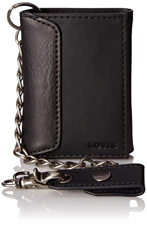 45d276390032 Levi s Men s Trifold Wallet – Sleek and Slim Includes ID Window and Credit  Card Holder