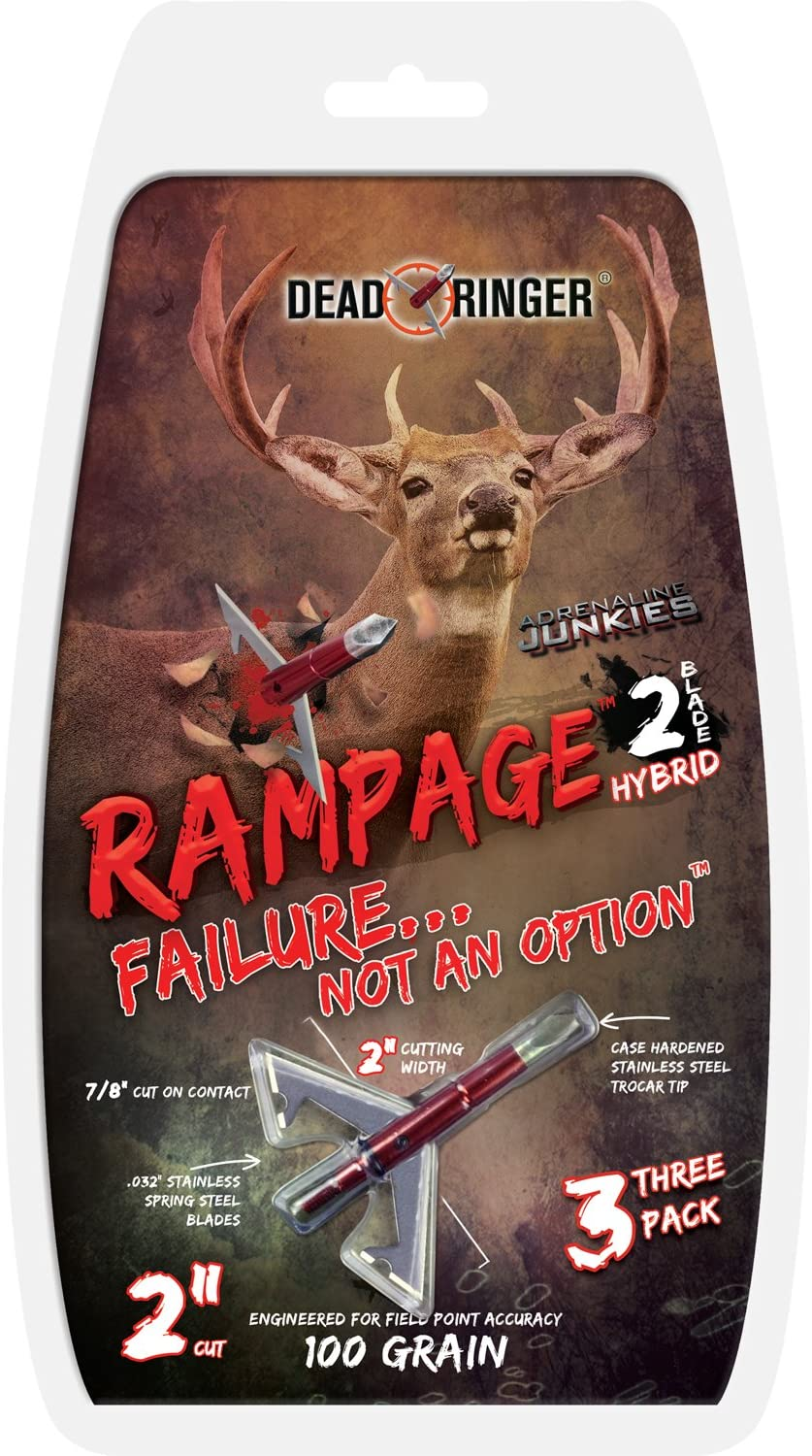 Dead Ringer Whitetail Freaks Super Freak Broadheads 100 grain 3 Pack