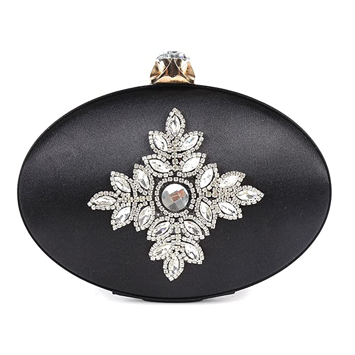 Retro Handbags, Purses, Wallets, Bags Damara Womens Retro Folk Style Oval Evening Bag $36.99 AT vintagedancer.com