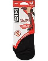 Dim Diam's Voile Galbé -  Mi-bas - Lot de 2 - 19 deniers - Femme