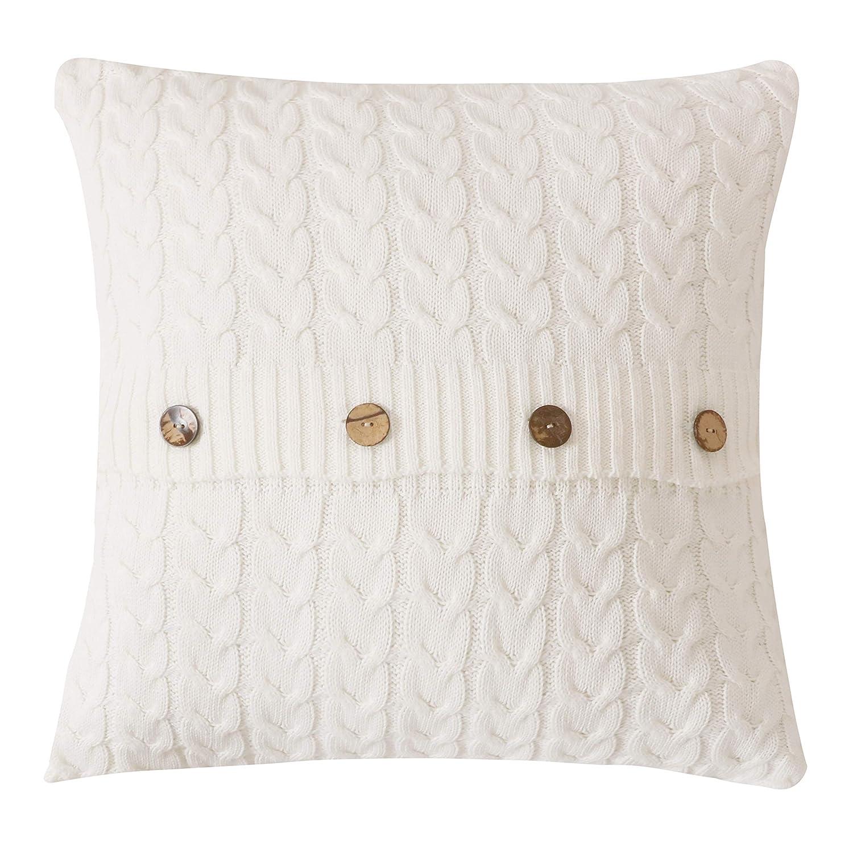 Amazon.com: famibay - Fundas de almohada de punto de algodón ...