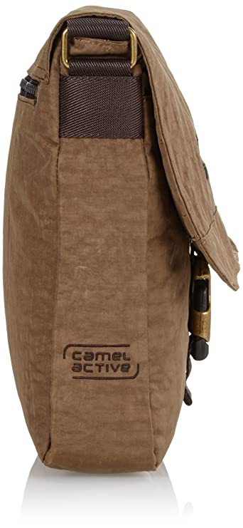 e8efa5011ef camel active Messenger Bag B00 604 25 Brown 4.0 liters: Amazon.co.uk:  Luggage