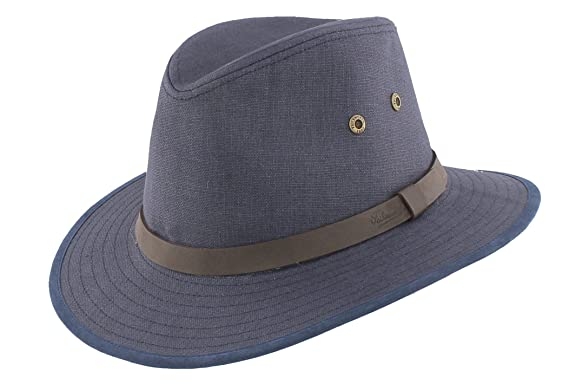 Failsworth Men s Irish Linen Safari Fedora Hat (Summer Holiday Classic)  (Small c5865266060