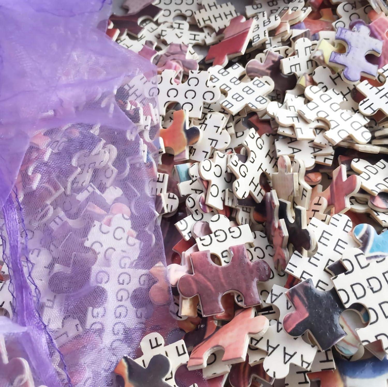 YDPTYANG Enfants Puzzle 500 Pieces Bateau dans Le Port Adultes en Bois Puzzle Classique Jeu Jouet Puzzles