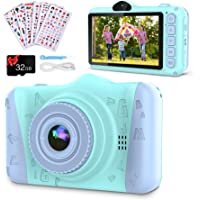 Coolwill Kids Camera for 3-12 Year Old Girls & Boys, 12 MP 1080P FHD Video Camera for Kids with 8X Digital Zoom & 3.5…