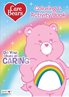 Care Bears POP OUTZ 25 Stickers 4 Coloring Boards and 24 Page Fun Activity Pad Take N Play Color and Play Activity Kit with 3 Washable Markers