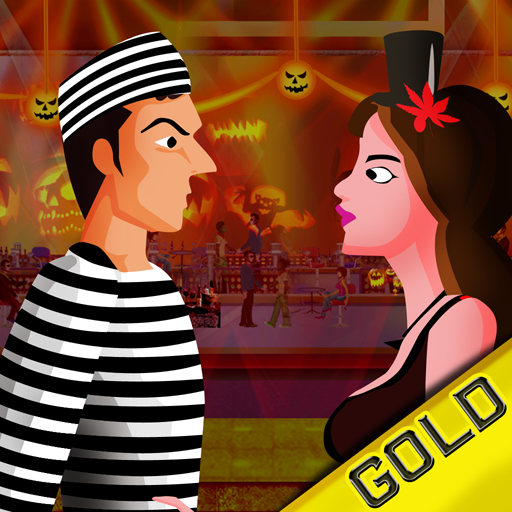 Boys Meet Girls Halloween : The Dating Costume Party Nightclub Dance Contest - Gold Edition -