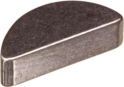 f Rotor ETZ 125,150 4x5 St DIN 6888 Halbmond Schwungscheibe Scheibenfeder