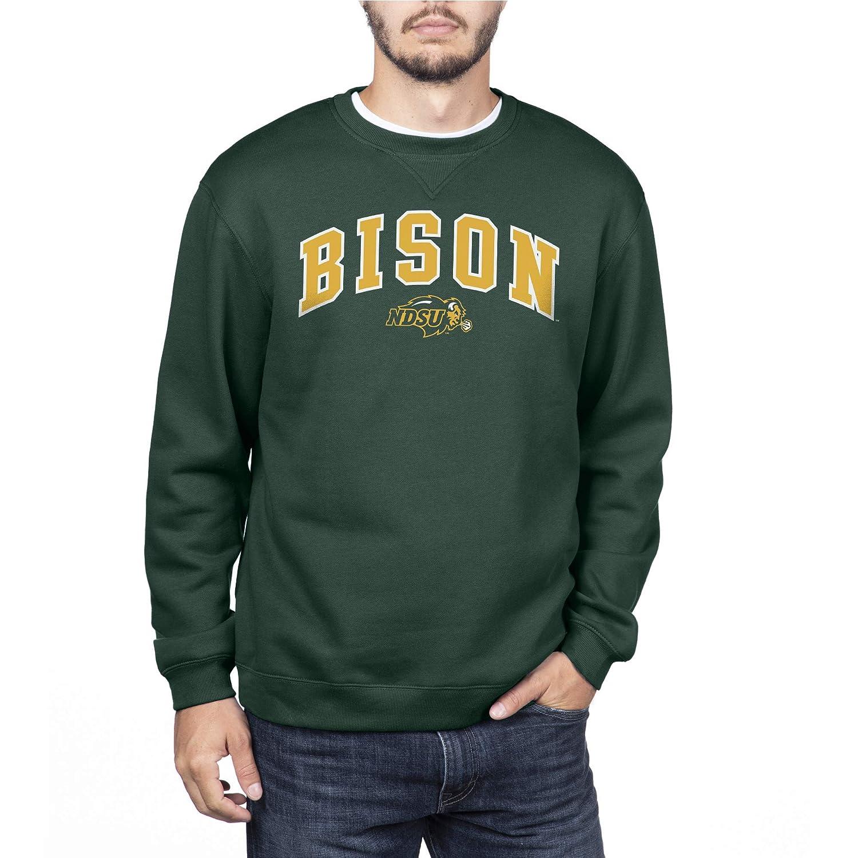 NCAA North Dakota State Bison Mens Team Color Crewneck Sweatshirt Forest Green X-Large