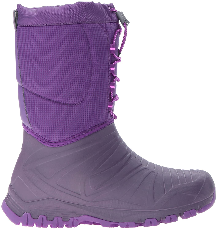 Merrell Mädchen Snow Quest Waterproof Trekking-& Wanderhalbschuhe, Pink (Berry), 36 EU