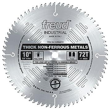 Freud lu89m010 10 inch 72 tooth tcg nonferrous metal cutting saw freud lu89m010 10 inch 72 tooth tcg nonferrous metal cutting saw blade with 5 keyboard keysfo Images