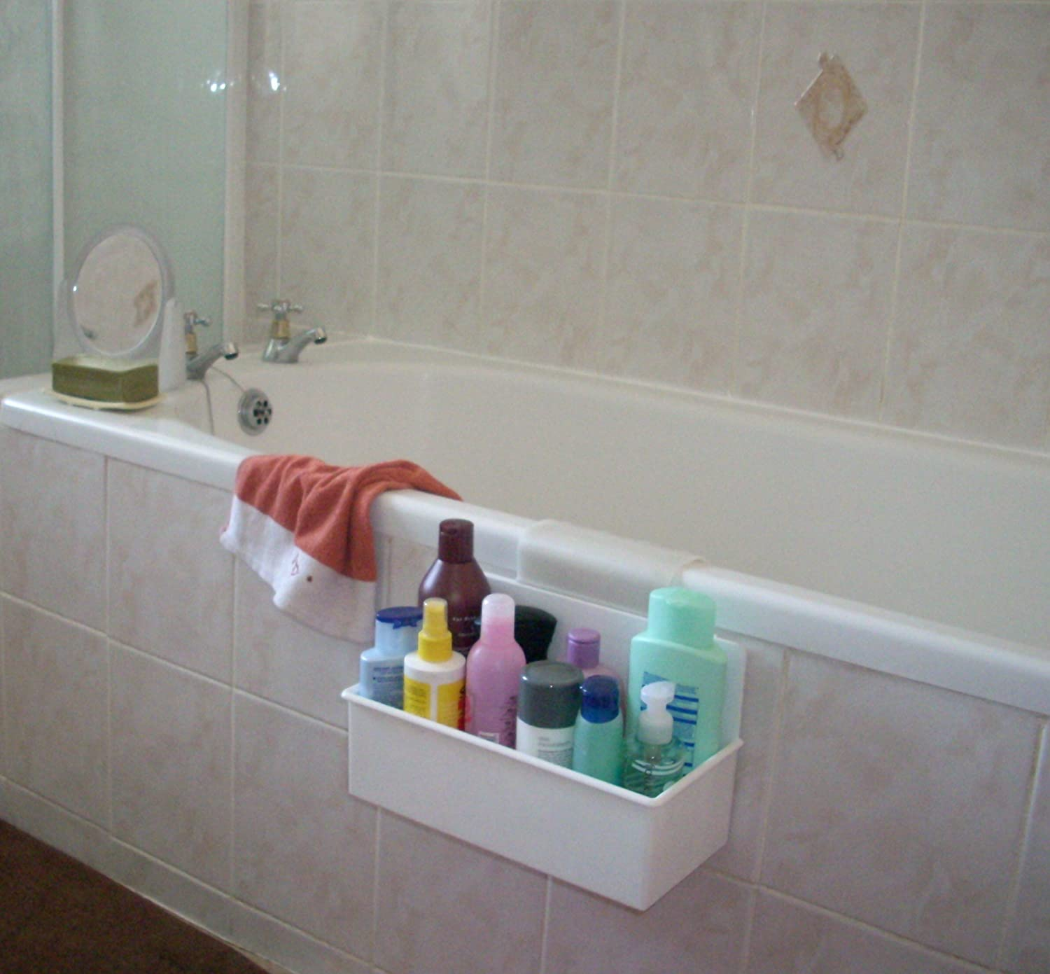 Bath Caddy Holder Bathroom Accessories: Amazon.co.uk: Kitchen & Home