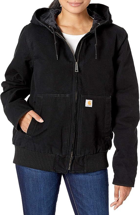 Regular and Plus Sizes Carhartt Womens Active Jacket Wj130