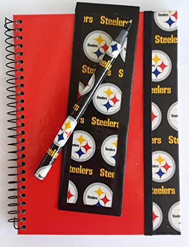 d521587e Amazon.com: Pittsburgh Steelers NFL Journal Diary Set: Handmade