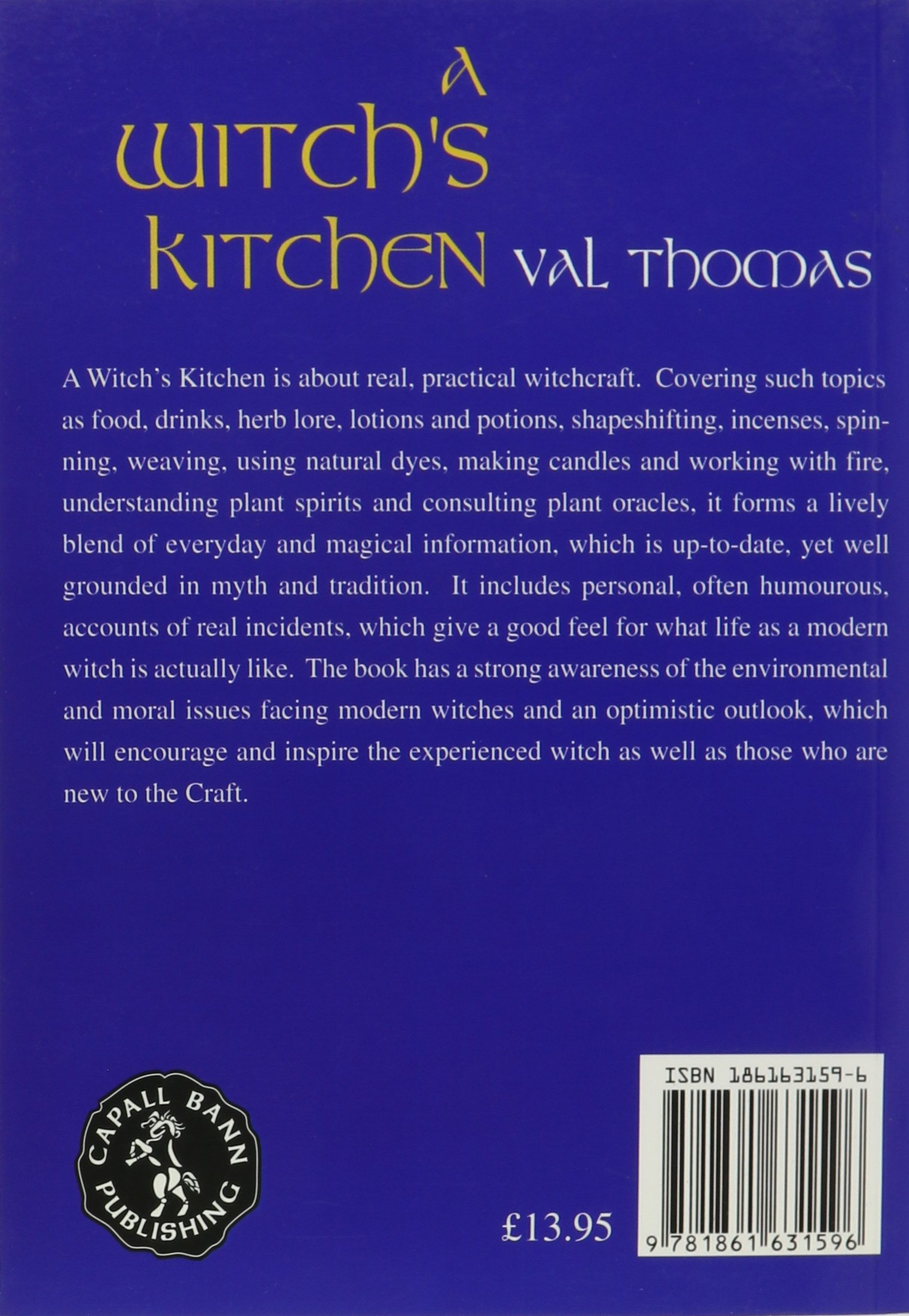 a witch s kitchen val thomas books