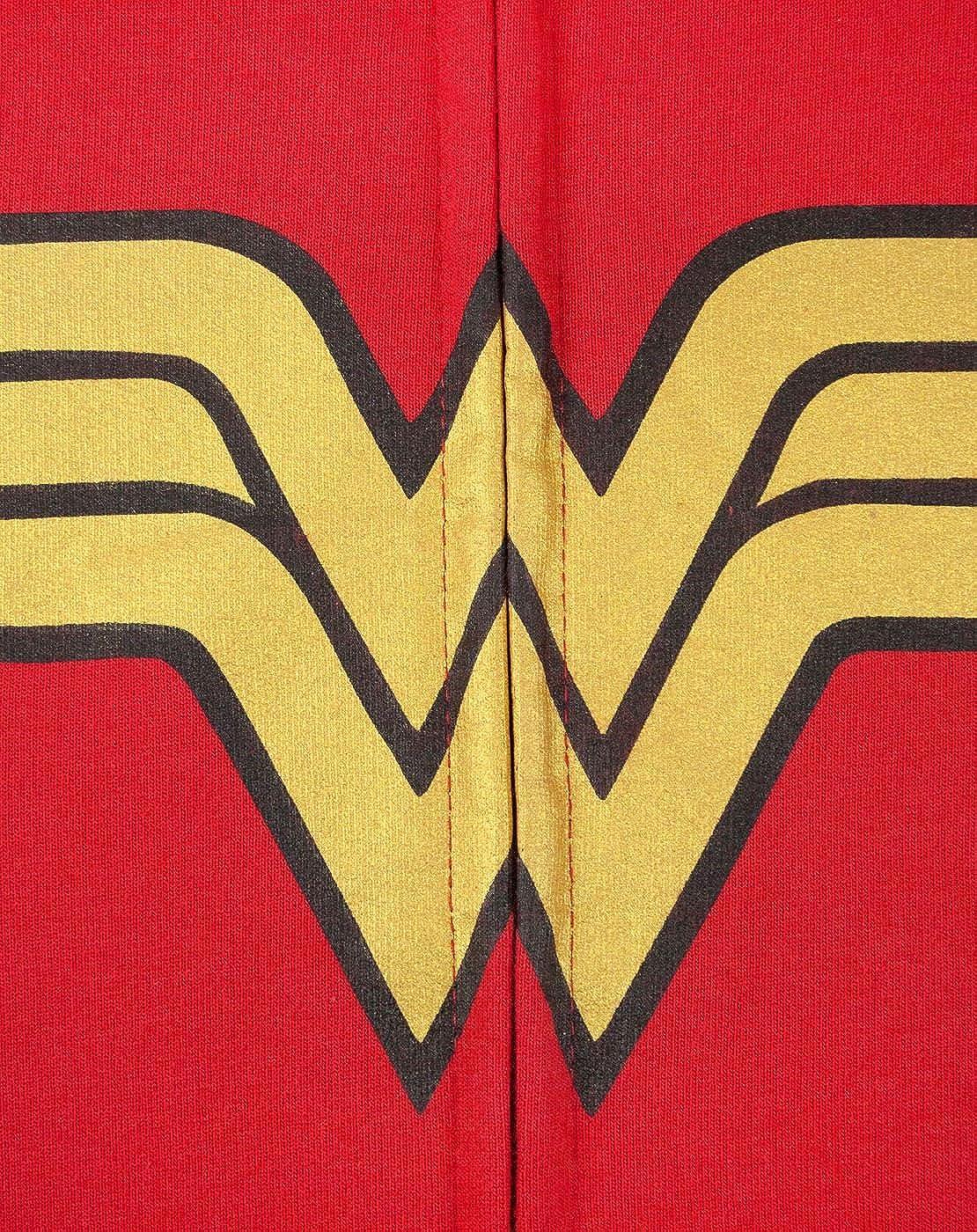 Wonder Woman Logo Girls Zip-Up Hoodie