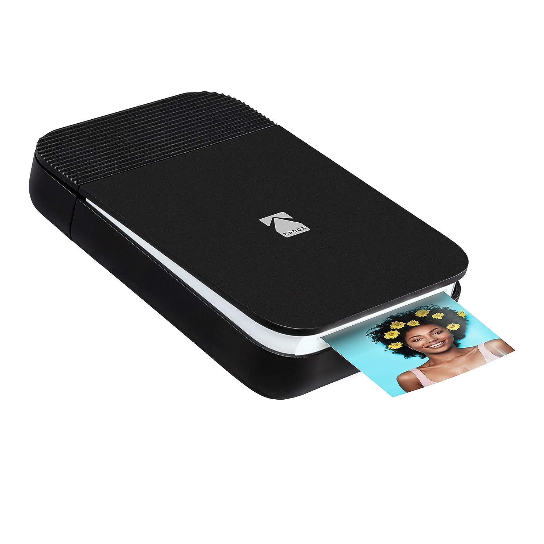 Bluetooth Mini-Drucker zum Aufklappen f/ür iOS /& Android drucken /& teilen 2x3 Zink Fotos mit GRATIS Smile App KODAK Smile Digitaler Sofortdrucker Blau Bearbeiten