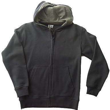 d53cb75a08619 Losan - Sweat-Shirt à Capuche - Garçon Gris: Amazon.fr: Vêtements et ...