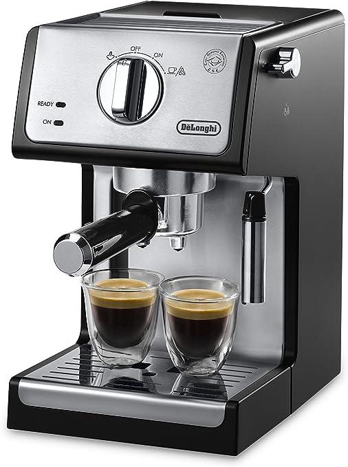 DeLonghi ECP3420 15 Bar Pump Espresso and Cappuccino Machine, Black by DeLonghi: Amazon.es: Hogar