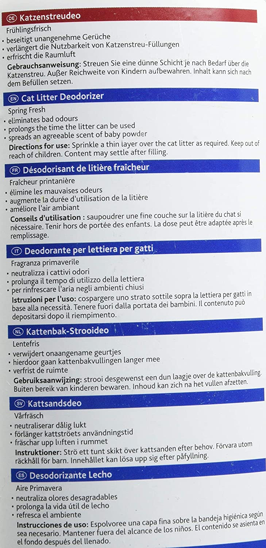 Trixie Fresh-n-Easy Cat Litter Spring Deodorizer 750 g