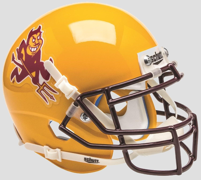 Schutt Arizona State Sun Devils Mini XP Authentic Helmet Arizona State Sun Devils Collectibles Sparky NCAA Licensed