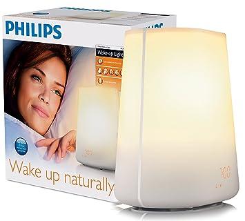 Philips Wake Up Light HF3475/01 With Radio Alarm   White