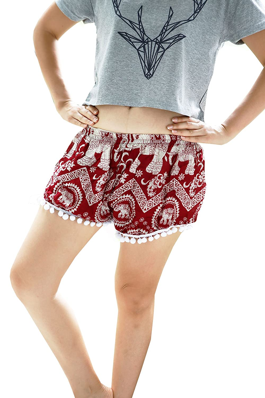 Pom Pom shorts Red Elephant Typical III