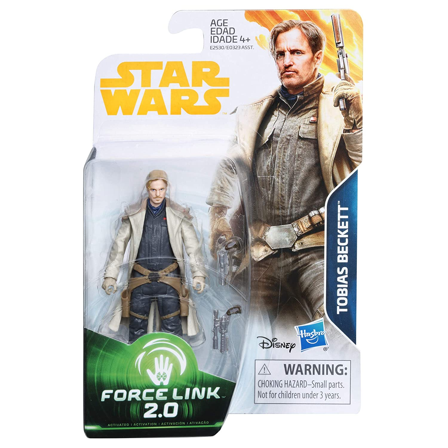 Star Wars E2530 Force Link 2.0 Tobias Beckett Figure Hasbro