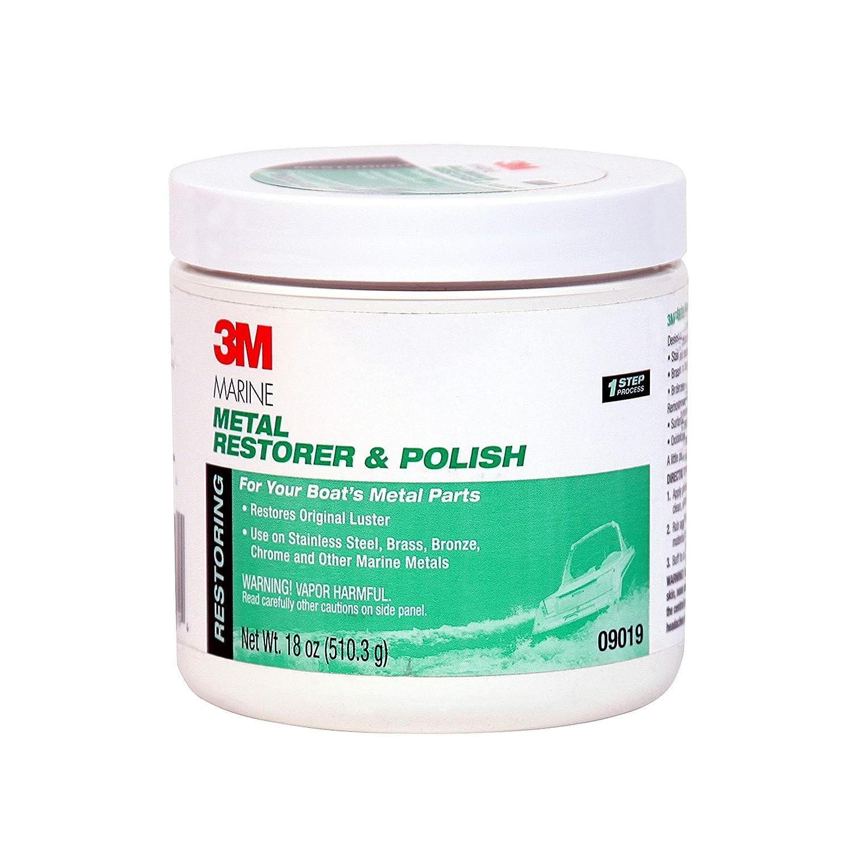 3M Metal Restorer and Polish, 09019, 18 oz Paste