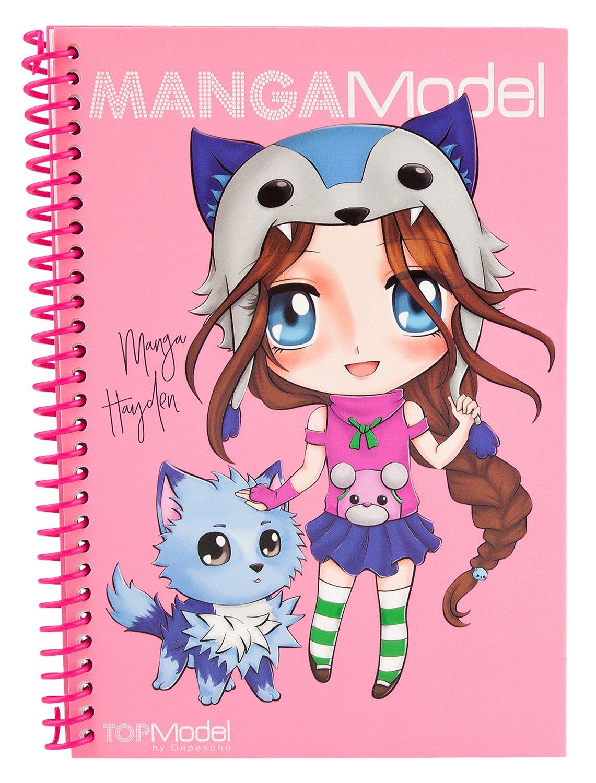 livre manga a colorier
