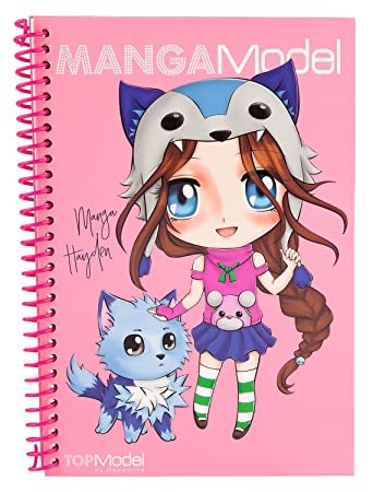 Depesche 8517 Manga Model Pocket Malbuch Amazon De Spielzeug