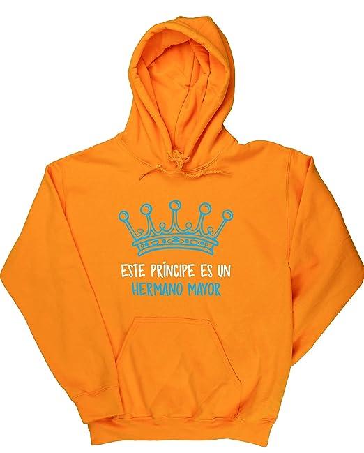 HippoWarehouse Este Príncipe es un Hermano Mayor jersey sudadera con capucha suéter derportiva unisex: Amazon.es: Ropa y accesorios
