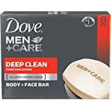 Dove Men+Care Body and Face Bar, Deep Clean