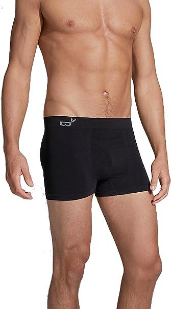 TALLA L. Boody cuerpo ecowear hombre Boxer Brief–Ropa interior de refrigeración Athletic para chicos