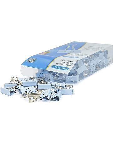 Rapesco Accesorios - Caja de 80 pinzas / clips de 19mm, hasta 75 hojas con