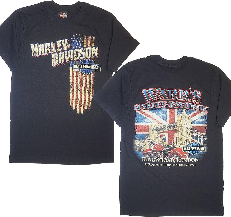 Harley-Davidson® - Camiseta - para hombre negro negro Small: Amazon.es: Ropa y accesorios