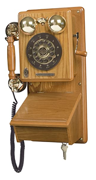 Lovely Crosley CR91 Country Kitchen Wall Phone (Oak)