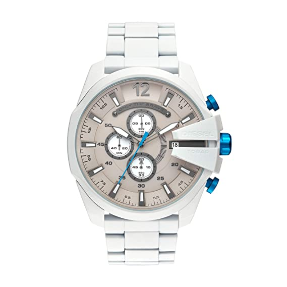 Diesel Reloj Cronógrafo para Hombre de Cuarzo con Correa en Acero Inoxidable DZ4502