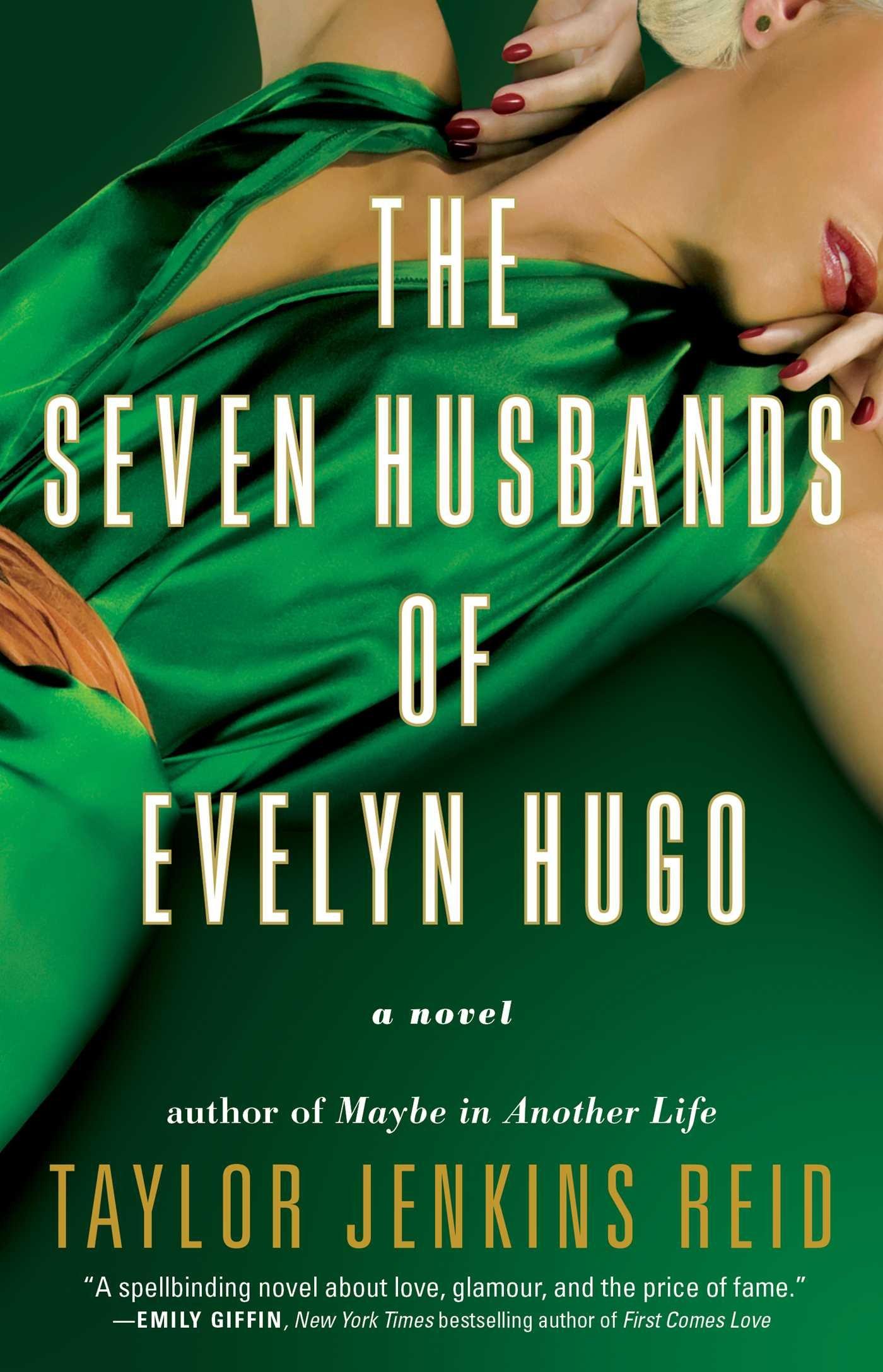 The Seven Husbands of Evelyn Hugo book cover