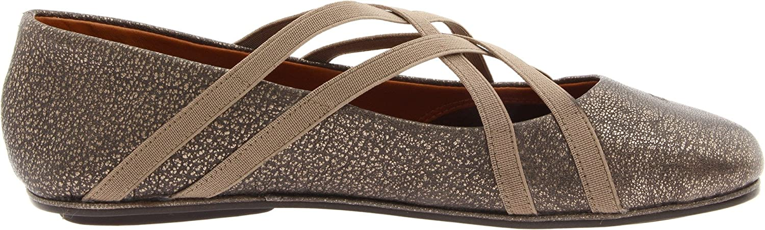 Gentle Souls by Kenneth Cole Women's Bay Braid Ballet Flat B003JBJ7FG 9.5 B(M) US|Antiqpwter
